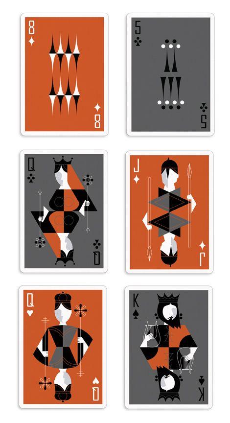 Sponsor The Retro Deck By Pocono Modern Playing Cards Design