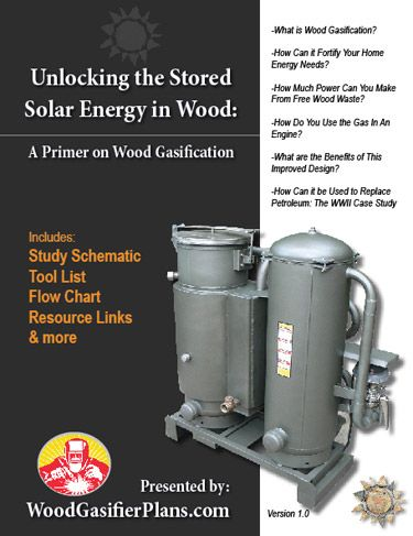Wood Gas Generator >> Free Wood Gasifier Plans Are Available In This Downloadable