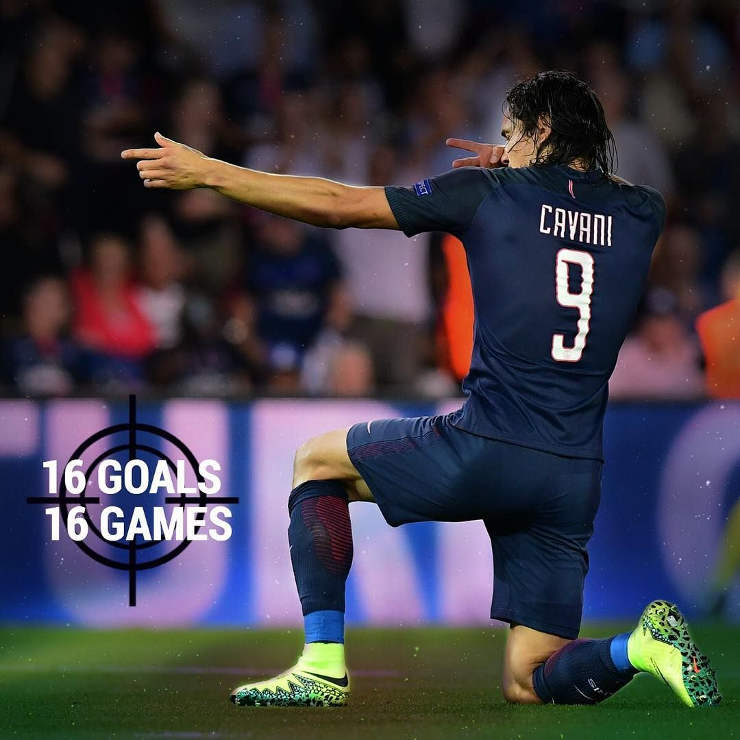 El Matador Is On Fire Edinson Cavani Has Scored 16 Goals In His Last 16 Games Psg Parissaintgermain Ucl Ligue1 Soccer Players Soccer Stats Soccer Life