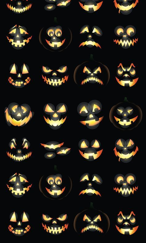Jack-O-Lanterns Photo Backdrop #pumpkindesigns