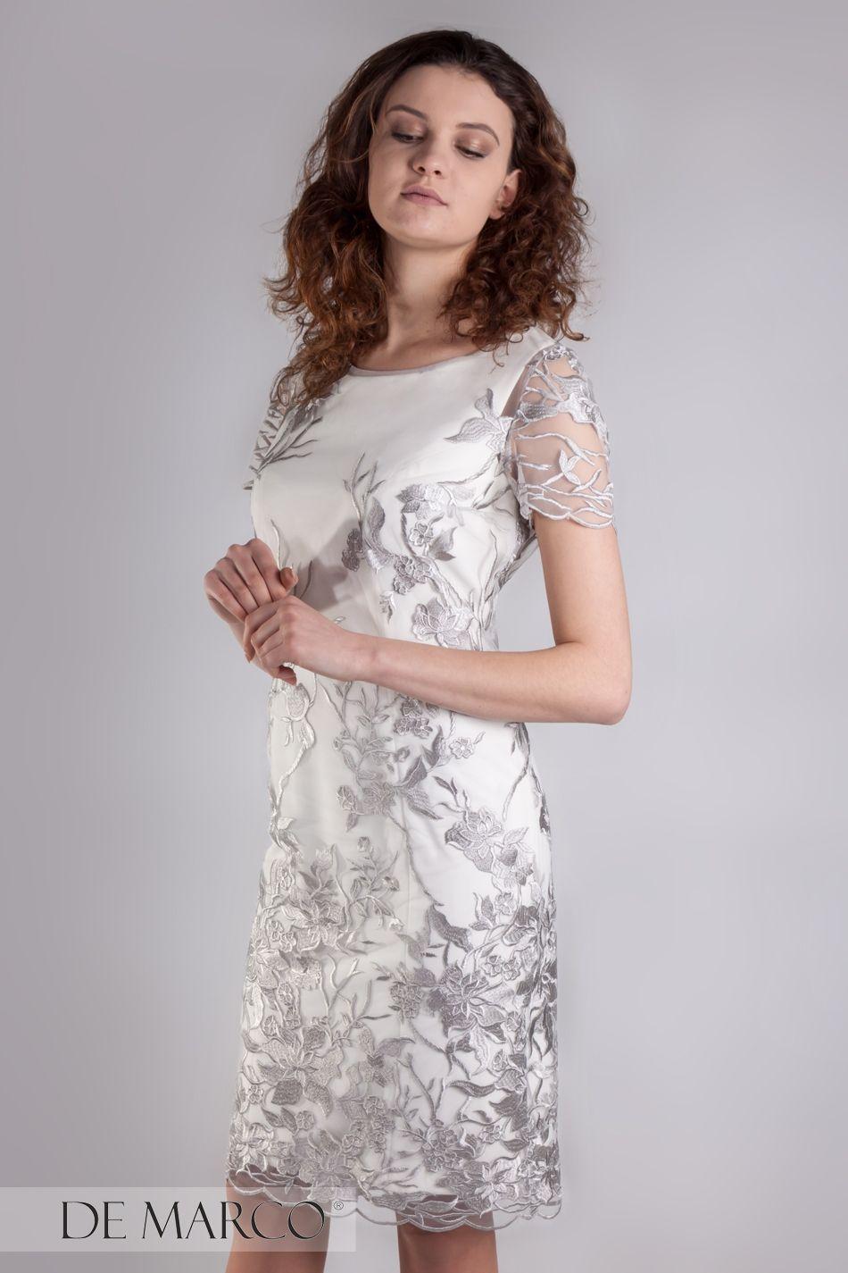 Komplety Na Wesele Komunie Wizyte Delegacje Sukna I Zakiet White Dress Cocktail Dress Formal Dresses