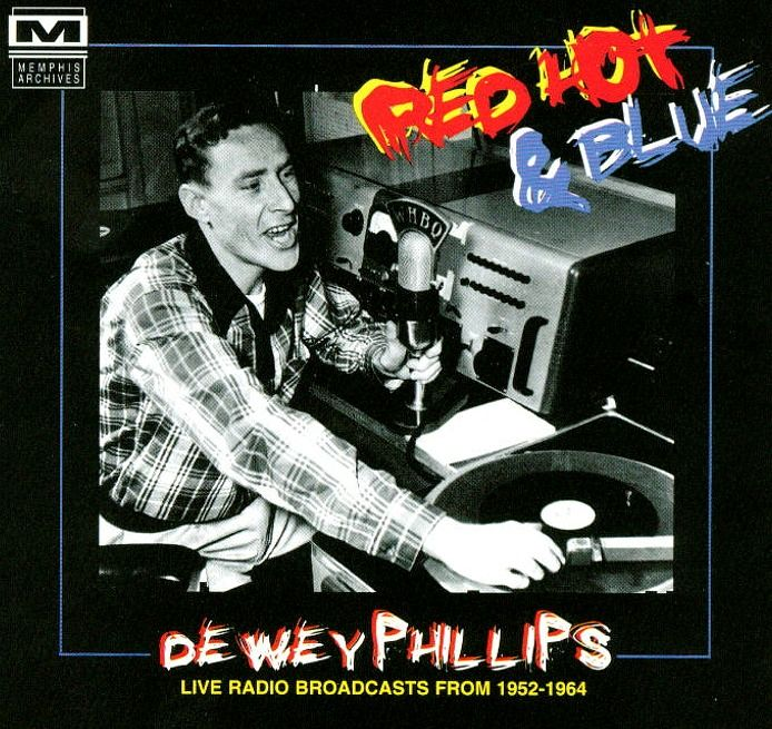 Dewey Phillips - WHBQ Memphis - The first DJ to play Elvis on the ...