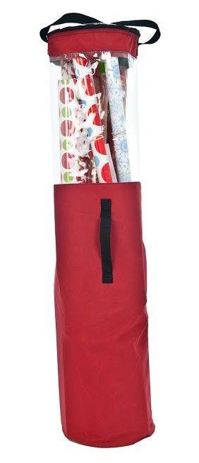 Santa's Bags Premium Christmas Wrapping Paper Storage Tube                                                                                                                                                                                 More