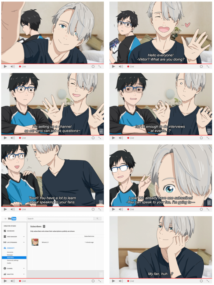 Viktor & Yuuri Ask Blog