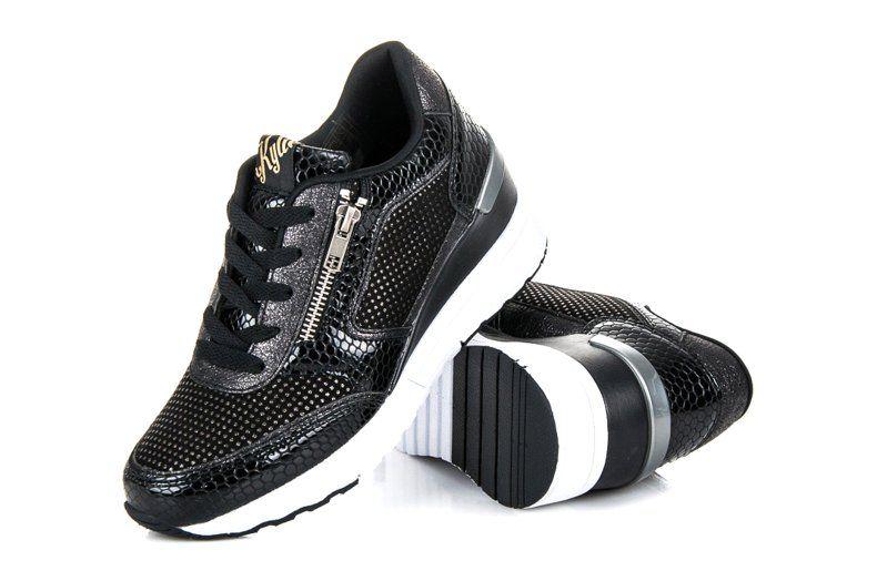 Kylie Buty Sportowe Na Koturnie Czarne Air Max Sneakers Nike Air Max Sneakers Nike