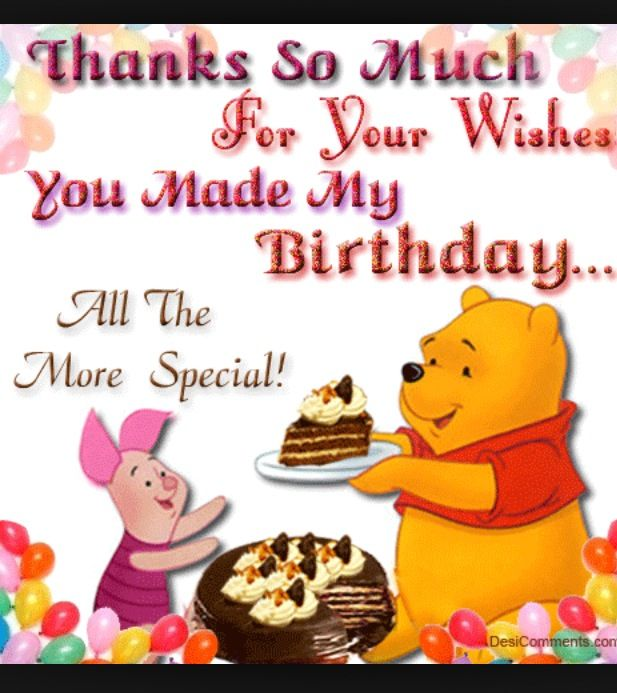 Click the image to view the ecard I appreciate your support with – Thanks for the Birthday Greeting