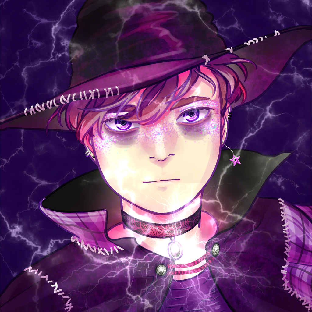 Virgil as a Witch by iraeim   incredible fan art ♥   Thomas Sanders
