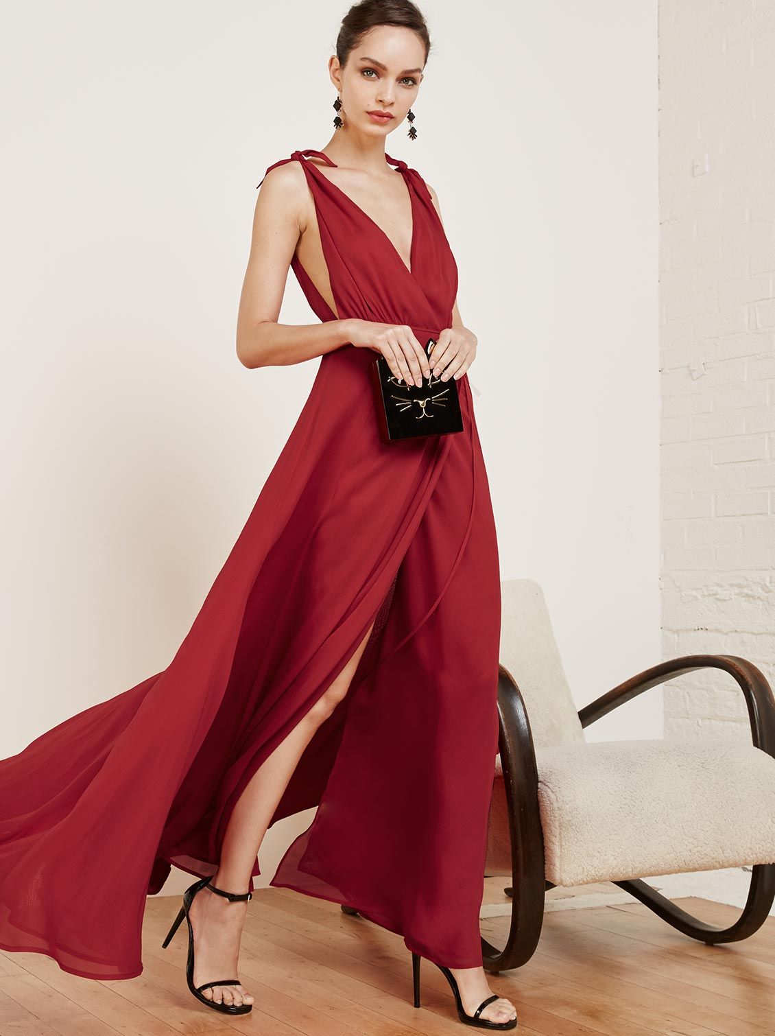 Winslow dress poinsettia prom and fashion