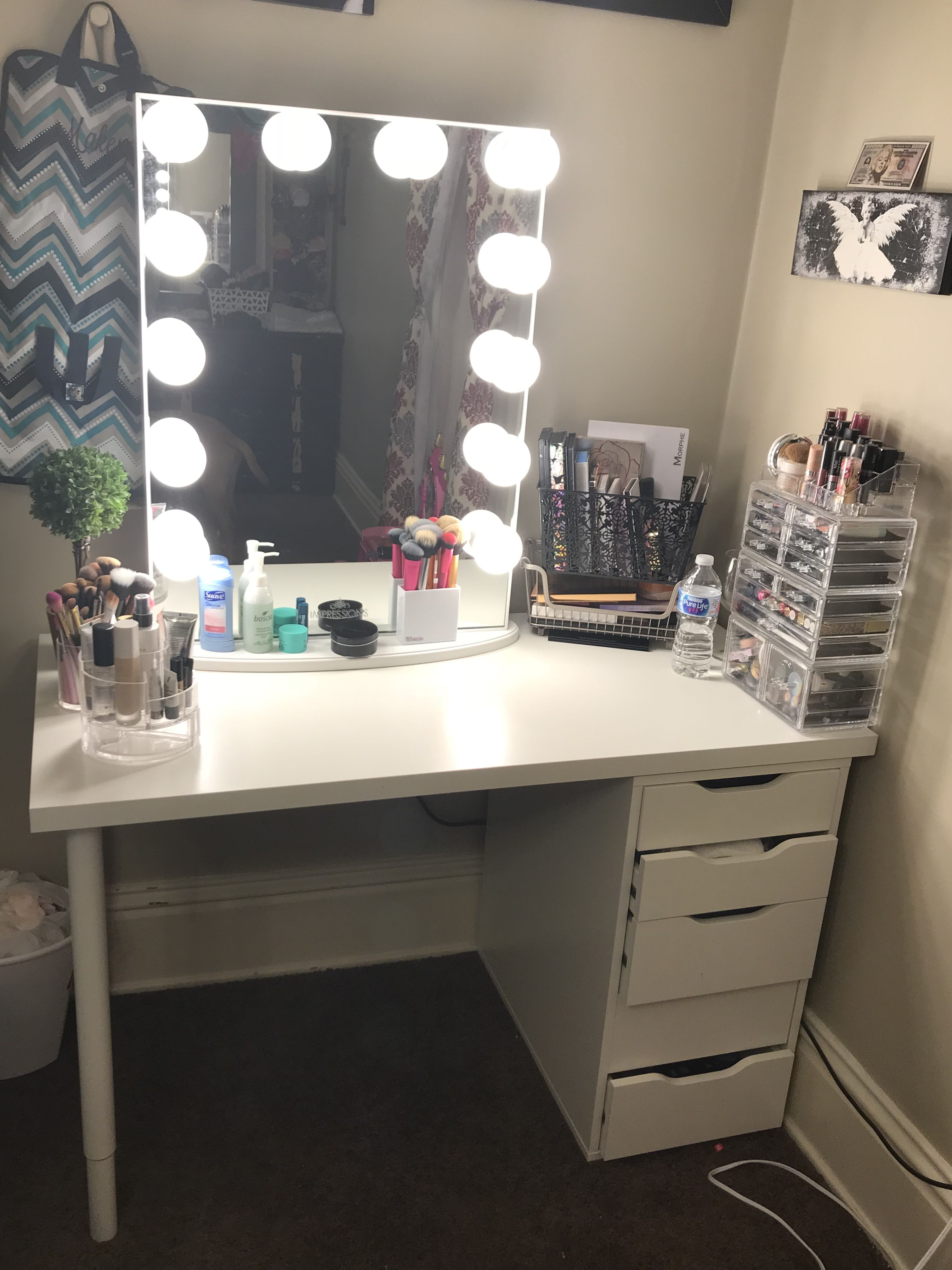 IKEA vanity Impression mirror  vanity in 2019  Vanity
