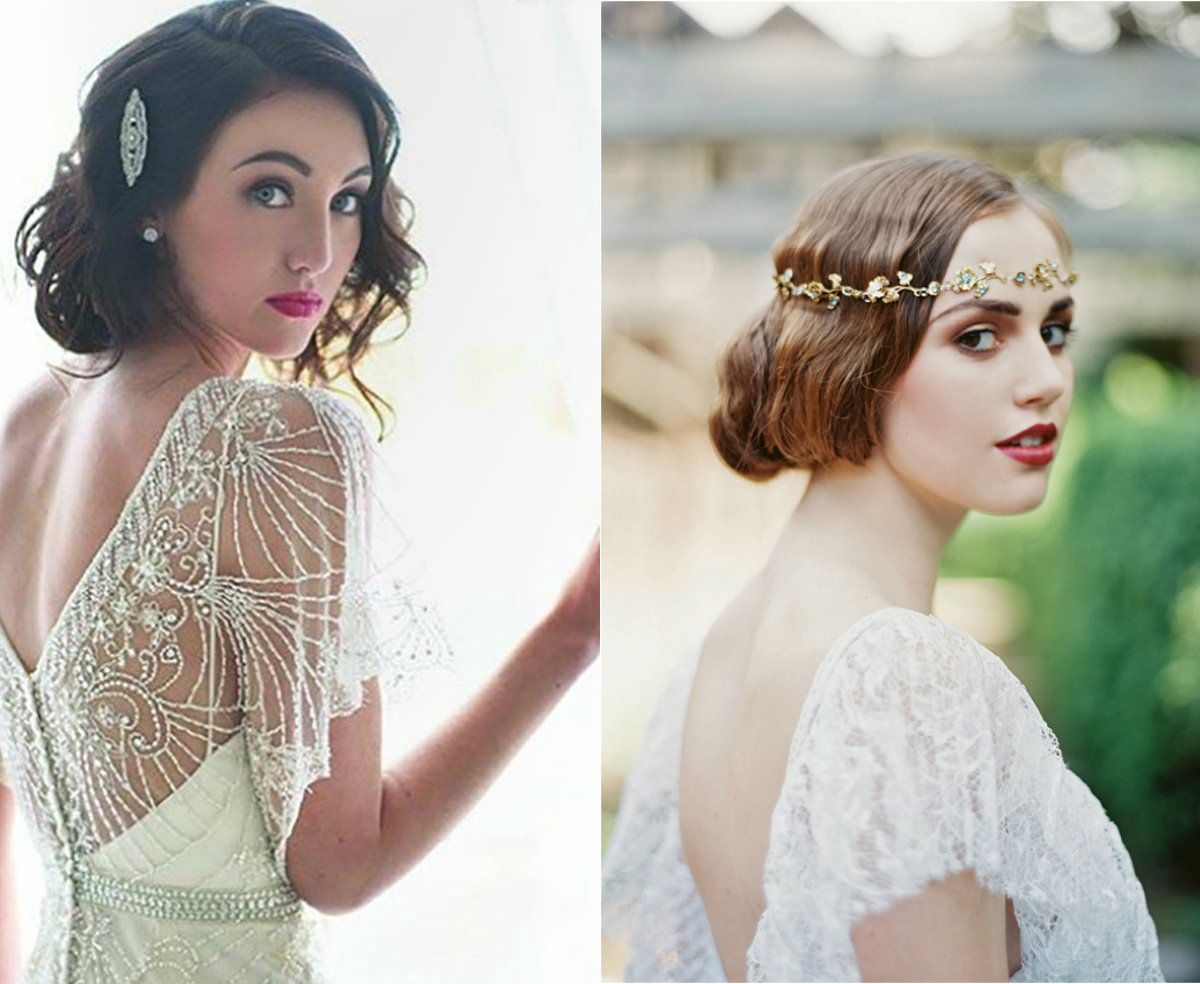 vintage wedding bob hairstyles 2017 | It\'s all in the details ...