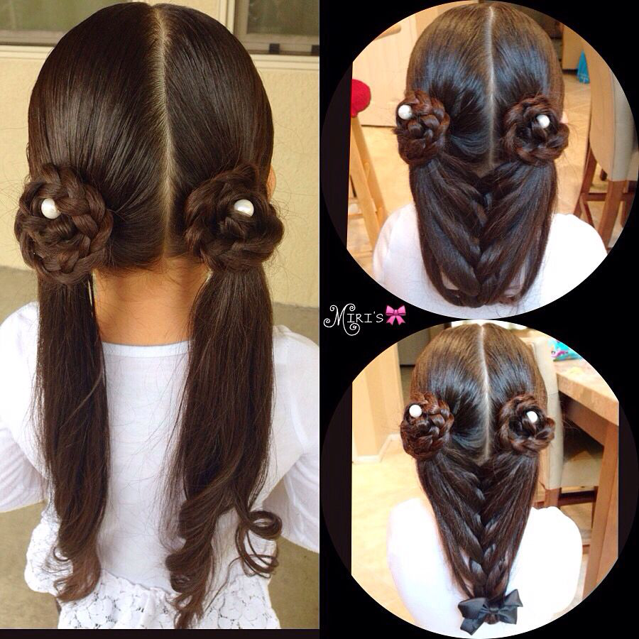 Hair style for little girls childrens hairstyles plaits