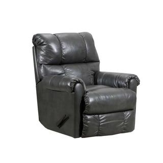 Mastro Heat Massage Wall Saver Recliner Leather Look Tan Leather Silver Lake In 2019 Recliner Furniture Swivel Recliner