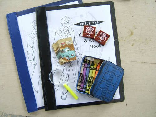 Printable Doctor Who Activity Book
