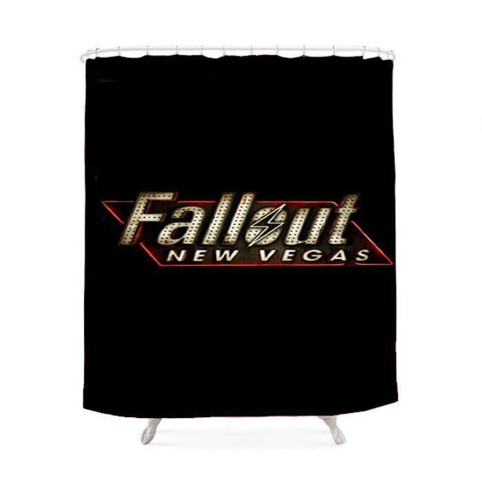New Fallout 4 Logo Shower Curtain