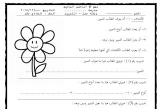 ورقة عمل درس التمييز للصف الحادي عشر الفصل الأول Math Blog Blog Posts
