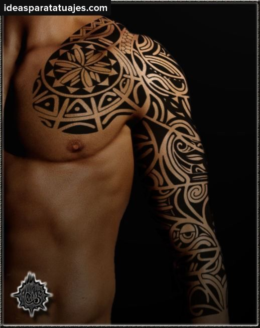 Los Tatuajes Tribales Para Hombres 1 Tribal Sleeve Tattoos Tattoos Best Sleeve Tattoos