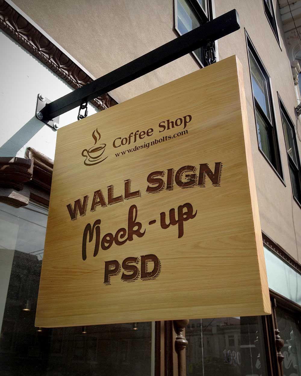Signboard Mockup