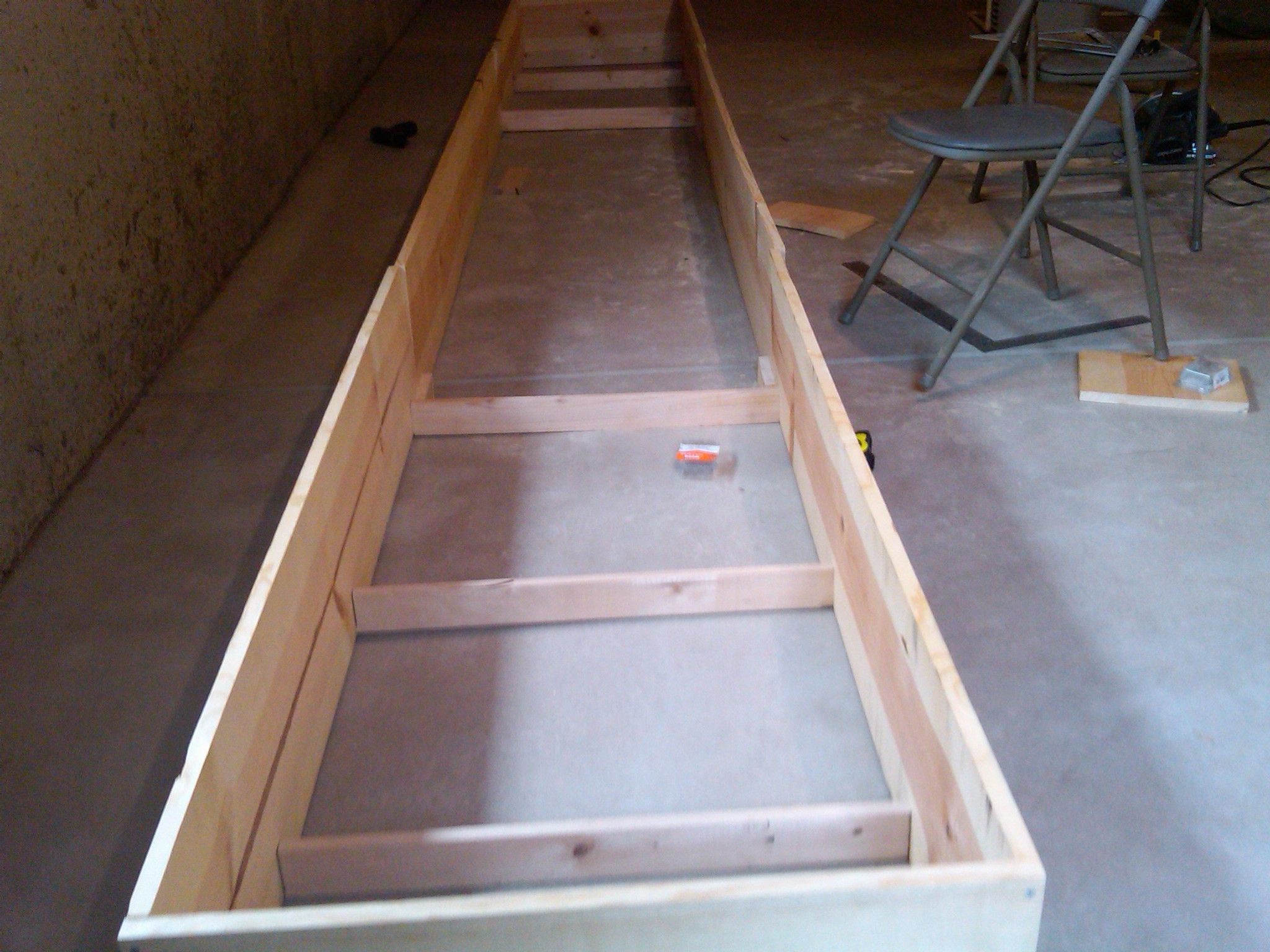 Build A Shuffleboard Table The Box How To Build A