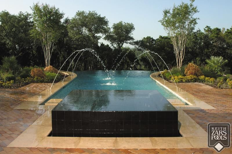 This looks so relaxing infintyedge keith zars pools - Swimming pool construction san antonio ...