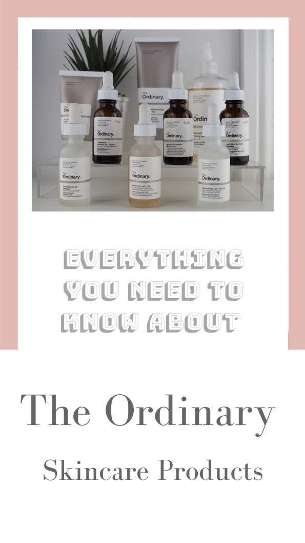 Everything You Need To Know About The Ordinary Skincare