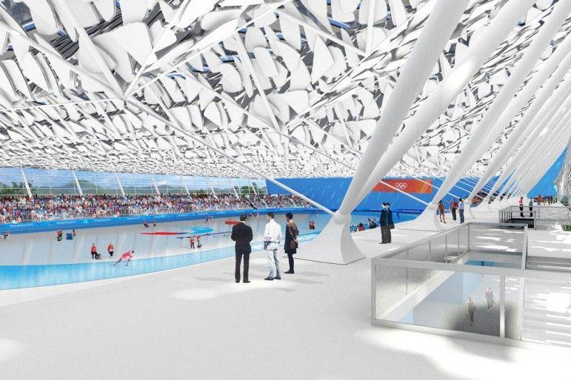 PyeongChang 2018 Winter Olympics Bid Oval in Gangneung