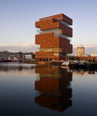 Museum aan de Stroom - Antwerp, Belgium  Neutelings Riedijk Architects