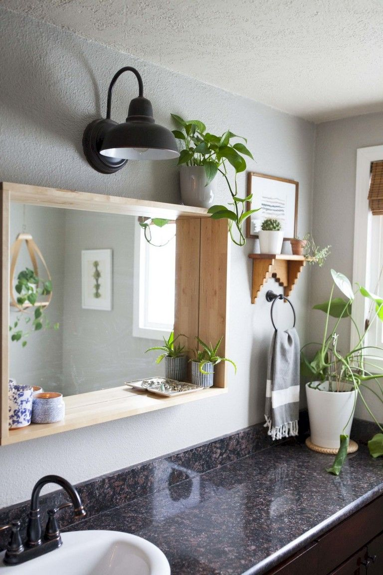 42 Beauty Bathroom Mirror Ideas Mit Bildern Minimalistisches