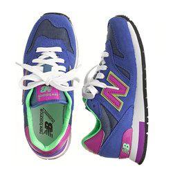 Kids' New Balance® for crewcuts K1300 sneakers in neon purple ...