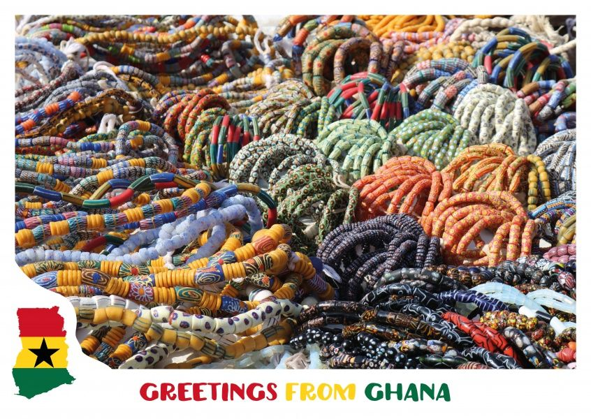 Greetings from ghana ghana postcards online and vacation greetings from ghana or another one of our 8000 designs as a m4hsunfo Gallery