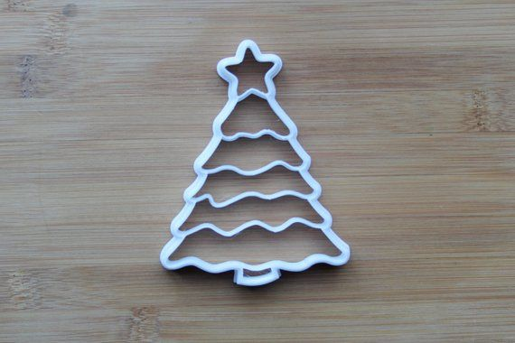 Christmas Tree Cookie Cutter 3D Printed Winter Cookie Cutters