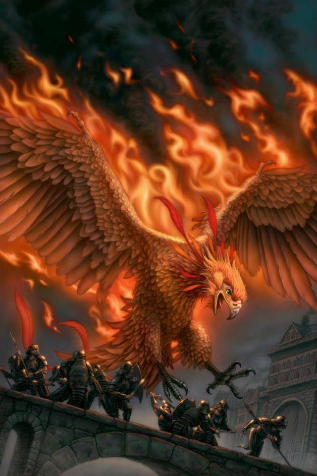 Phoenixes.