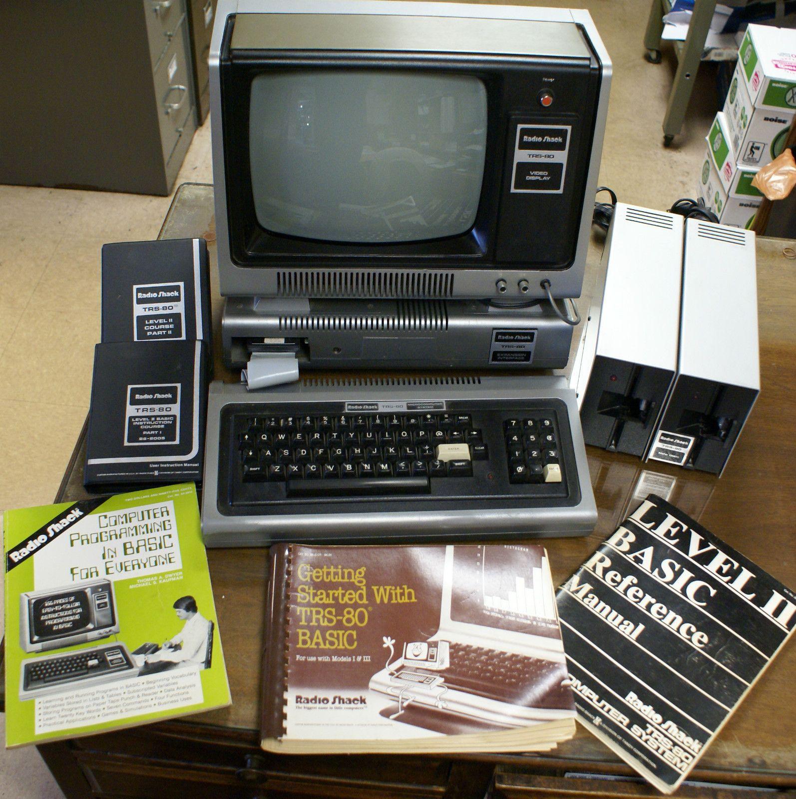 Computers Technology: Radio Shack TRS-80 Model 1 (1977-1980)