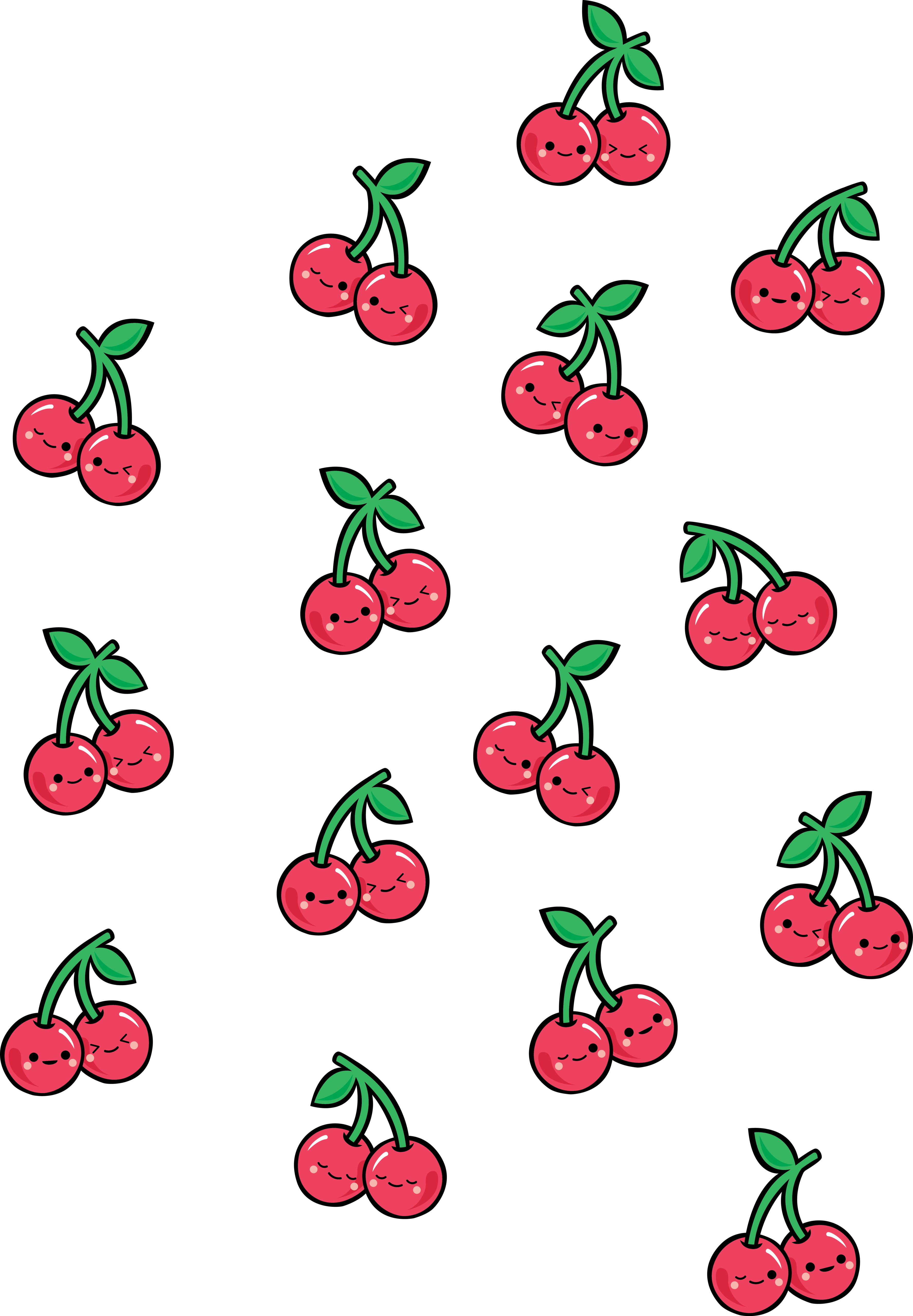 Cherry Pattern Casetify Iphone Art Design Illustration Fruit In 2021 Fruit Wallpaper Cute Laptop Wallpaper Cute Food Wallpaper