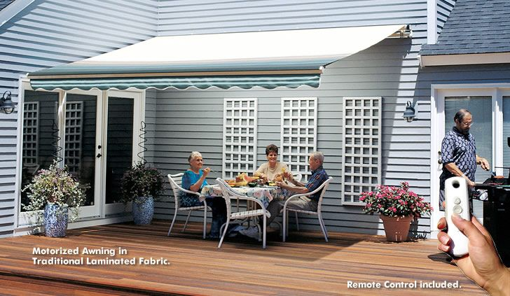 Sunsetter Awnings Motorized And Xl
