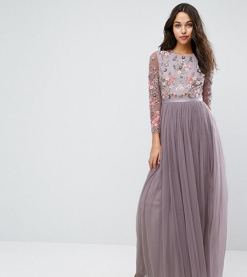 Needle & Thread Ditsy Scatter Tulle Gown | Tulle gown and Products