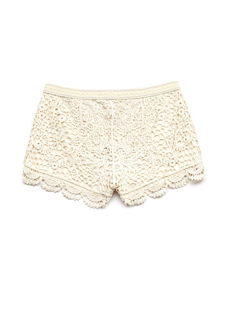 Crochet Lace Shorts Kids Forever21 F21girls Summerforever