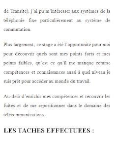 Rapport De Stage Algérie Telecom Rapport De Stage Telecom