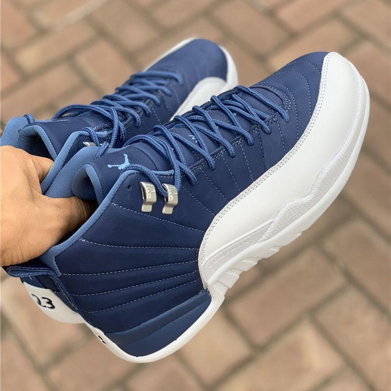 air jordan 12 stone blue legend blue