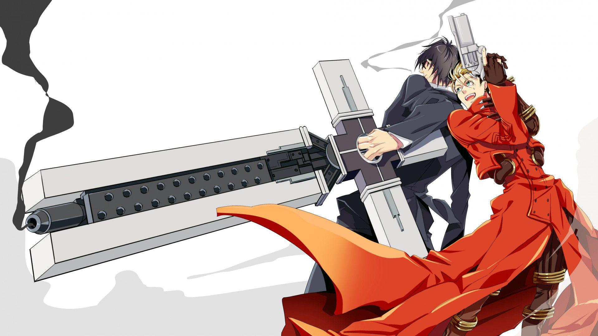 Res 1920x1080 Vash The Stampede Nicholas D Wolfwood Trigun Coat Trigun Wallpaper Anime