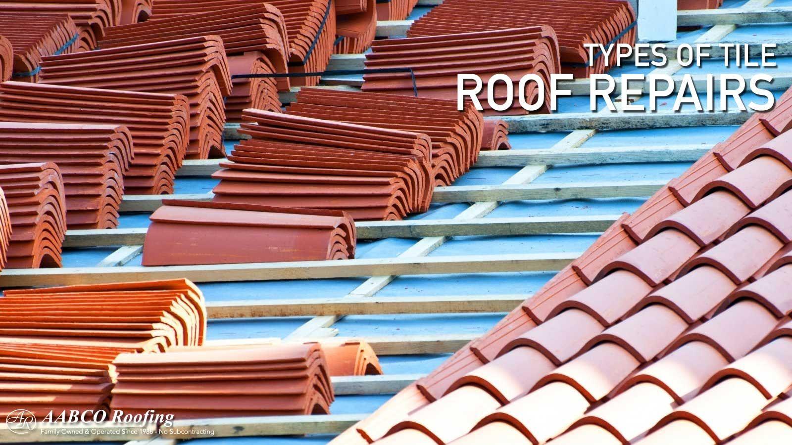 Tile Roof Repair In 2020 Roof Repair Roof Tiles Roof