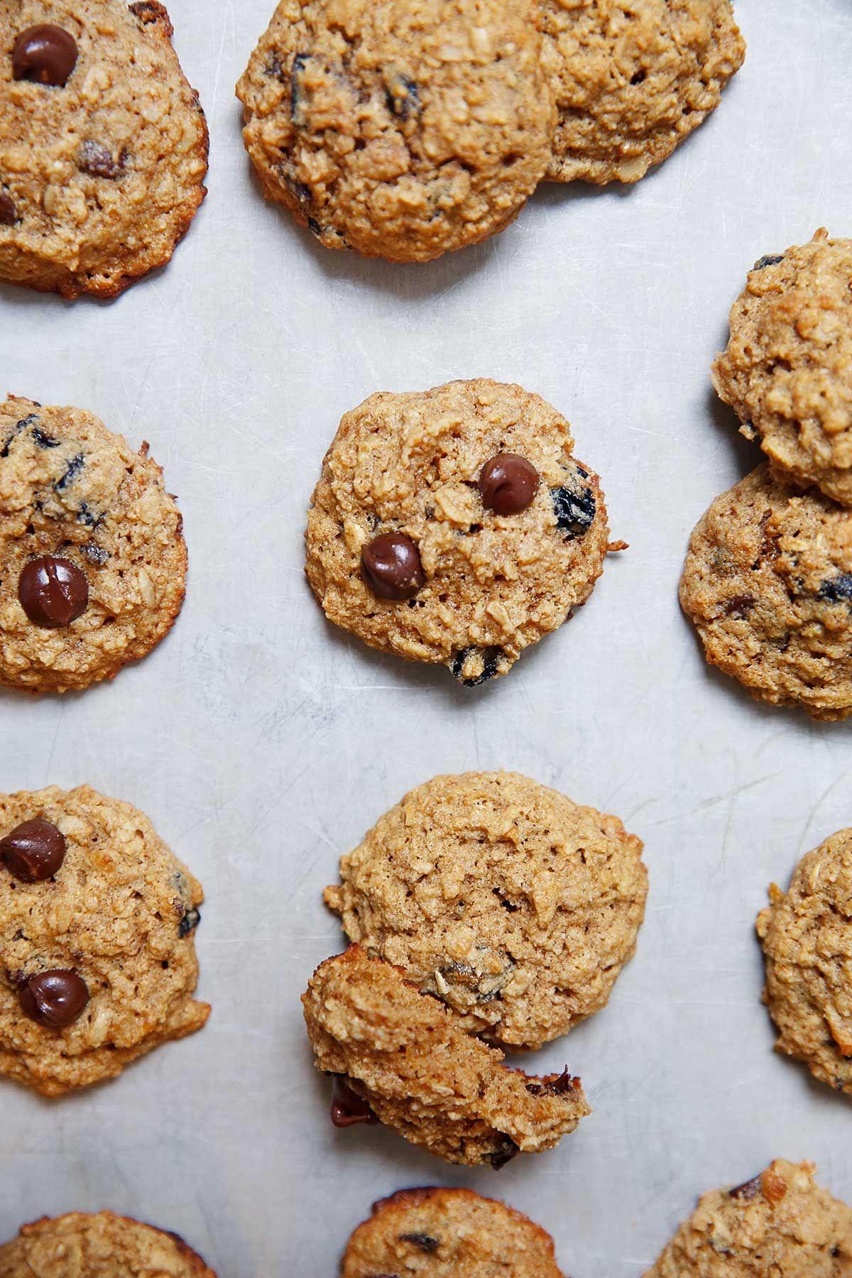 Gluten free oatmeal raisin cookies lexis clean kitchen