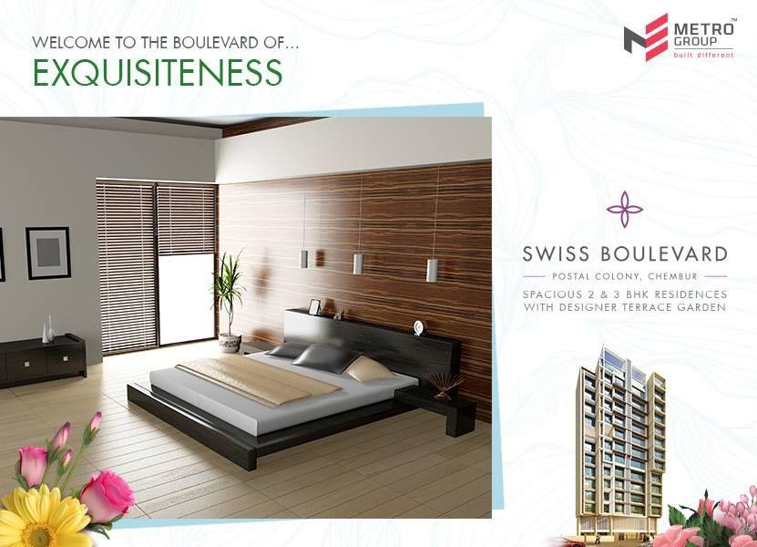 Swiss Boulevard Postal Colony, Chembur Welcome To The Boulevard Of Exquisiteness www.metrogroupindia.com  #metrogroupindia #SwissBoulevard  #metrogroup #mumbai #realestate #luxury #luxurioushouse #property #homesellers #bestexperience #NaviMumbai