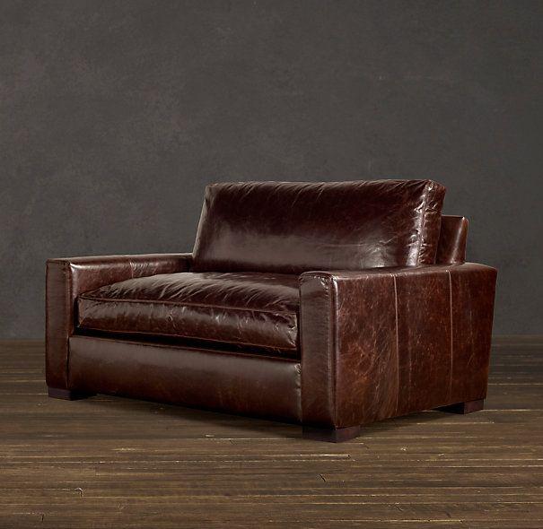 Charmant 5u0027 Maxwell Leather Sofa