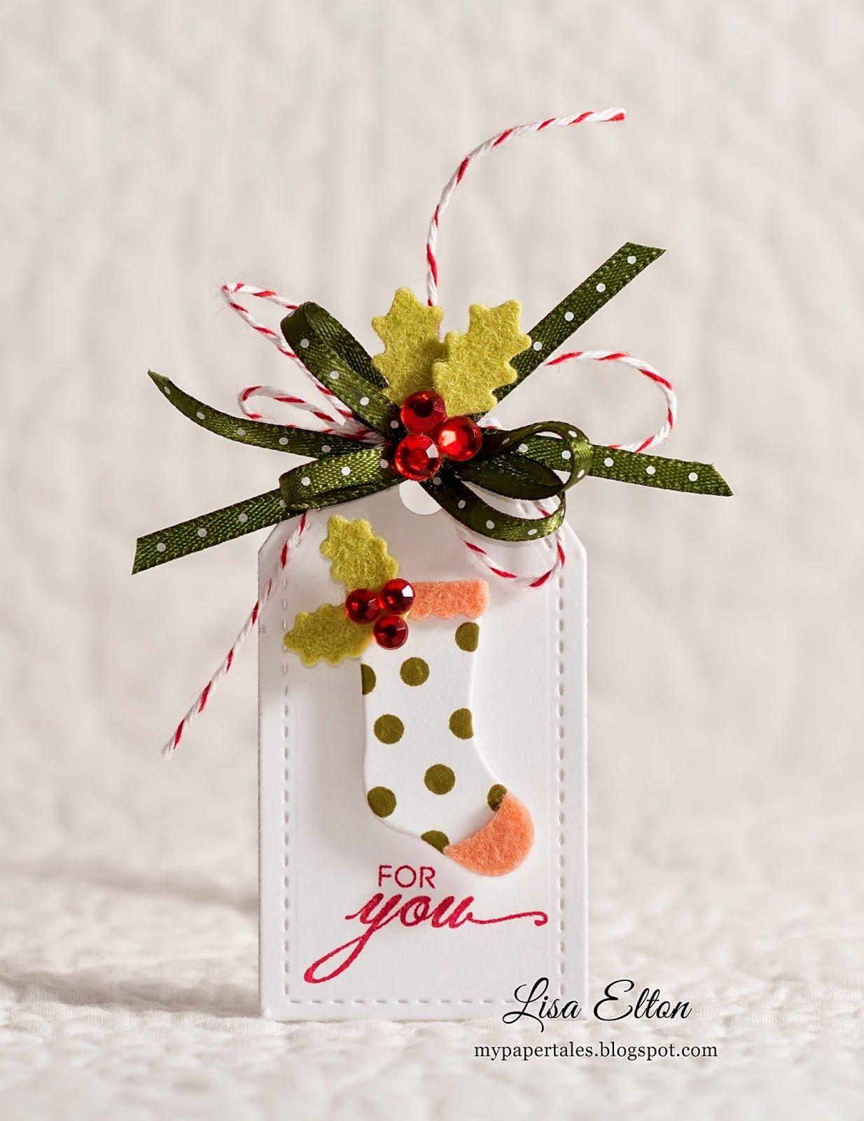 25 Days of Christmas Tags Day 2 and CCC 120 Xmas tags