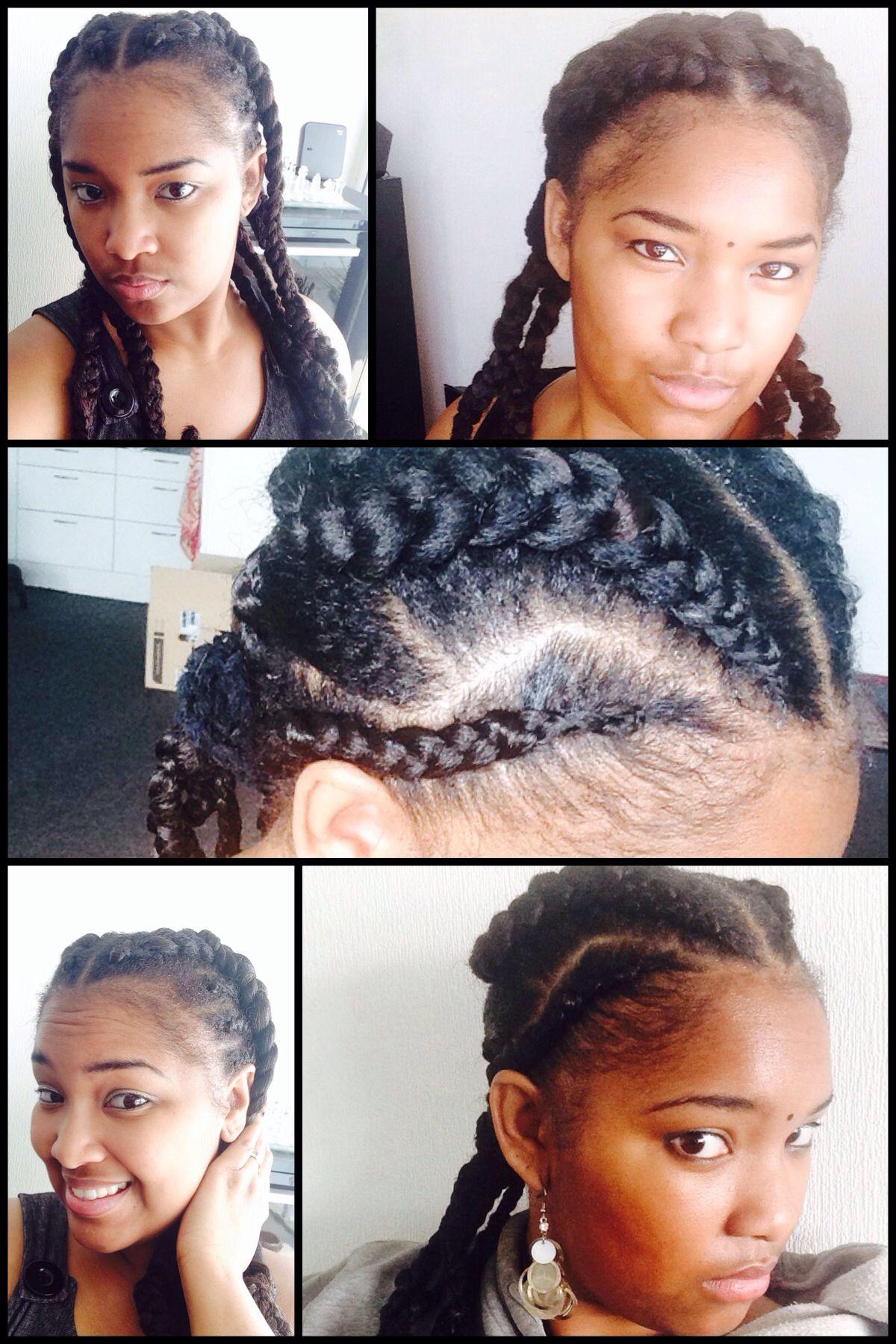 Cornrowsgoddesbraids mix hairstyles pinterest cornrows