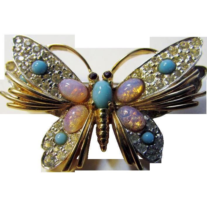 Vintage lot butterfly pendants
