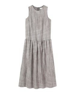 SPACE DYED LINEN DRESS by TOAST