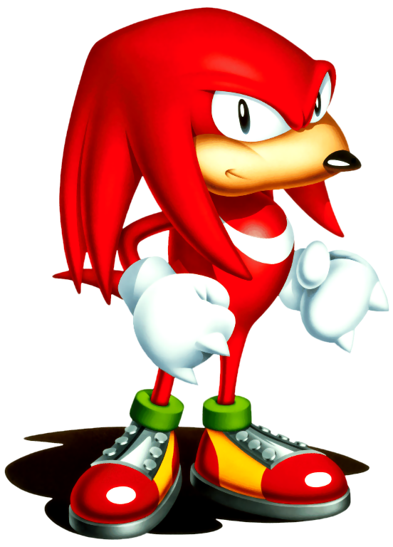 Sonic Art Archive Knuckles01 32 Png