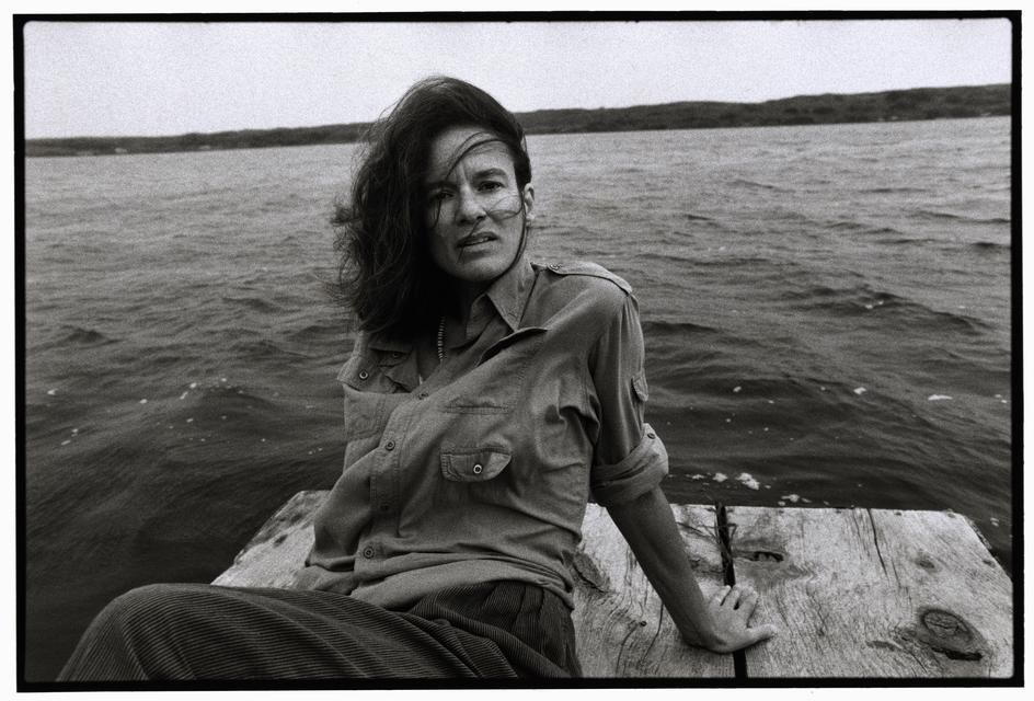 SHARON OLDS by Bruce Davidson