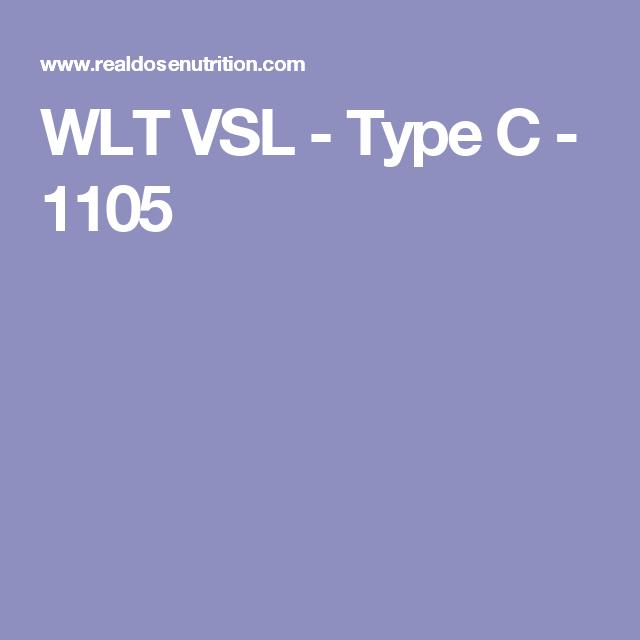 WLT VSL - Type C - 1105